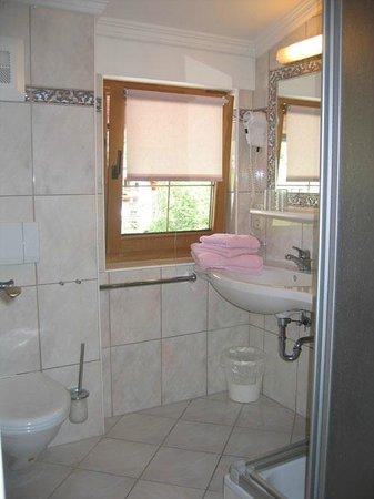 Appartement Gerlos Perle : Badezimmer