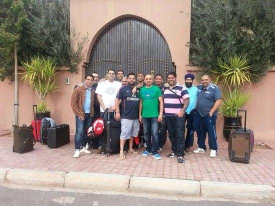 Al Fassia Aguedal : Arrival at Al Fassia