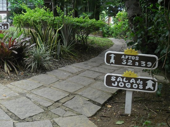 Pousada Dos Reis : el parque