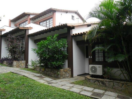 Pousada Dos Reis : Las habitaciones en el paque