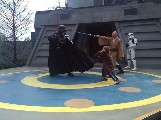 Disney's All-Star Movies Resort : Jedi Training Academy at Hollywood Studios