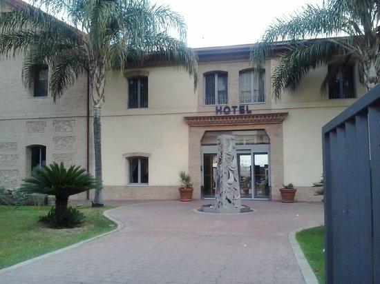 Checkin Valencia: Entrada al hotel
