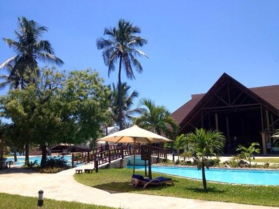 Amani Tiwi Beach Resort : view from my room, nov.2013
