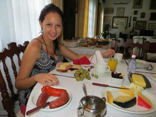 Pousada Casa Sin Nombre : Desayuno, cafe da manhã, breakfast