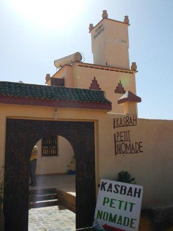 Kasbah Petit Nomade : The entrance of the Kasbah