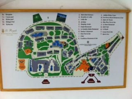 Le Royale Sharm El Sheikh, a Sonesta Collection Luxury Resort : Resort Map
