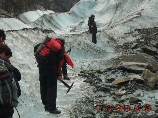 Fox Glacier Guiding: Fox trot