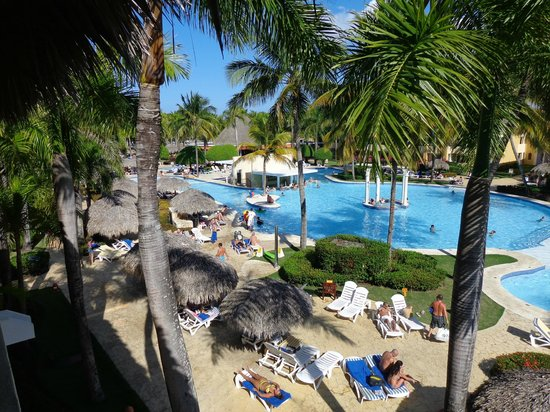Iberostar Costa Dorada : View of pool from our room