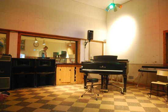 RCA Studio B: sala incisione