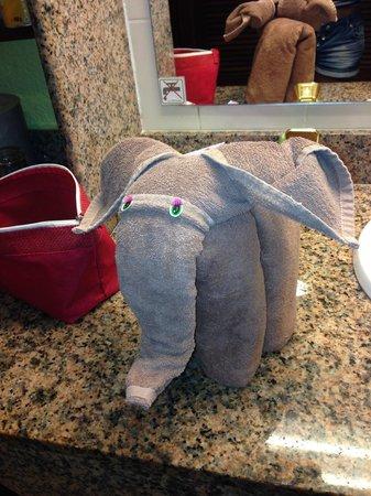 ClubHotel Riu Tequila : Serviette éléphant