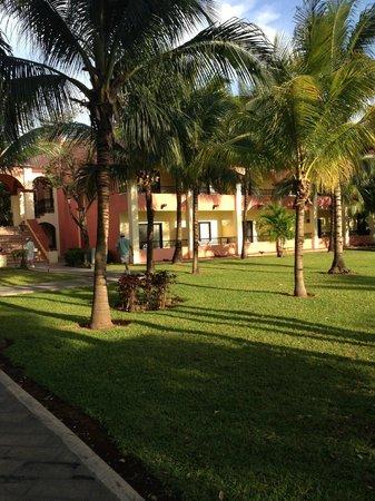 ClubHotel Riu Tequila : Vue du jardin