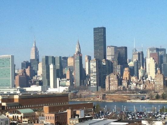 Z NYC Hotel : der Blick aus den Hotelzimmern