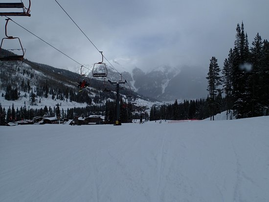 Copper Mountain: Start of a fateful run