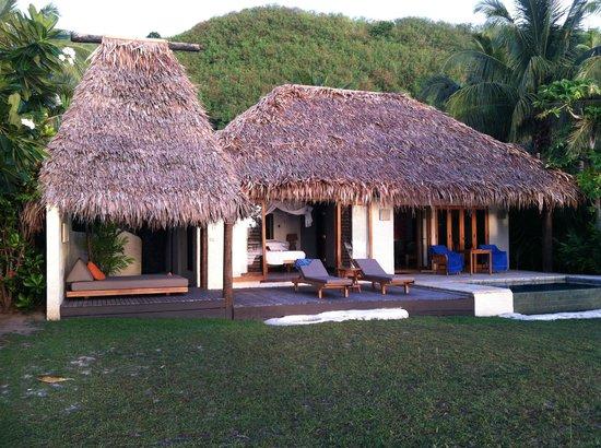 Tokoriki Island Resort: Our Pool Bure #2