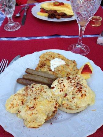 Port d'Hiver: Breakfast