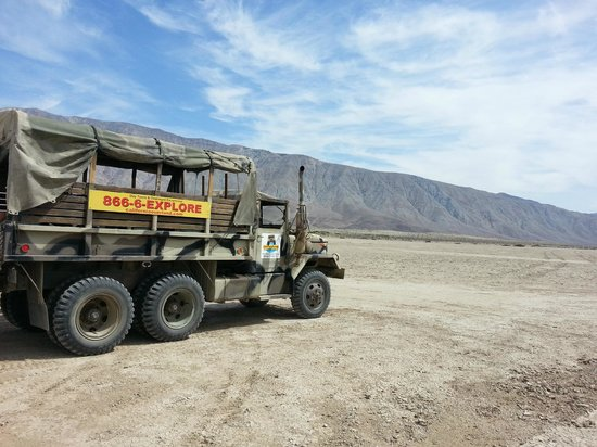 California Overland Desert Excursions: Tour Bus