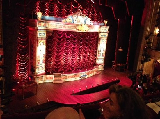A Gentleman's Guide to Love & Murder: view from seats B17 and B19 Mezzanine