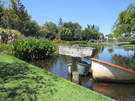 Ngatea Water Gardens : boats for hire - not