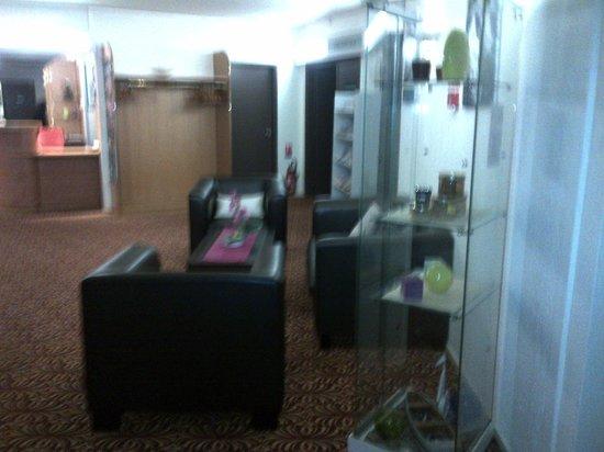Brit Hotel Brest Le Relecq-Kerhuon : entrée-réception