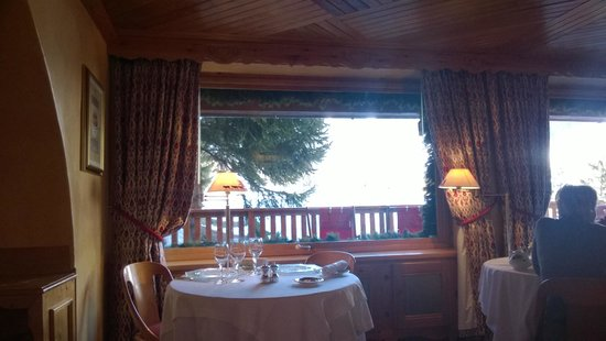 Hotel Le Grand Coeur & Spa: View from Breakfast