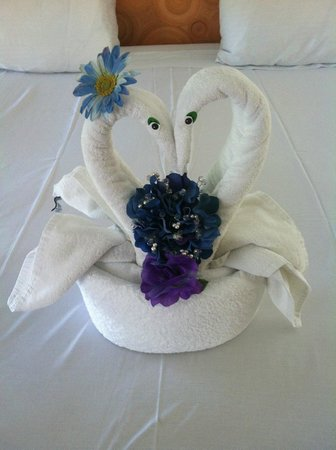 Sandos Caracol Eco Resort: The use immitation flowers instead of real ones which is great, used my bridesmaids bouquet here