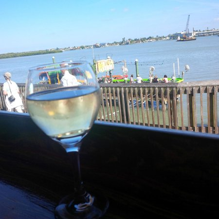 Sculley's Boardwalk Grille: View from our table