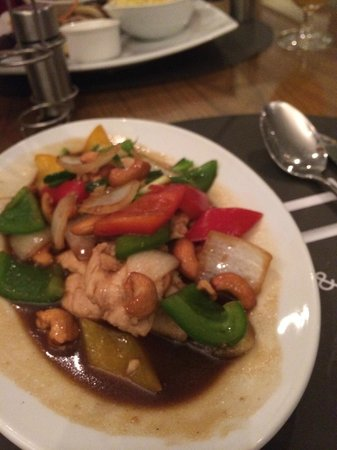 BYD Lofts Boutique Hotel & Serviced Apartments: Our wonderful meal