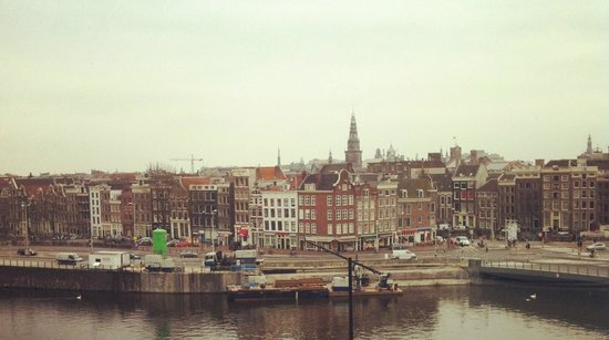 DoubleTree by Hilton Hotel Amsterdam Centraal Station: Our wonderful view
