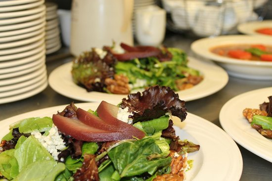 The Lake Grill offers an array of fresh salads.
