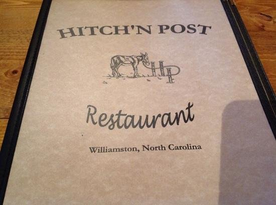 Hitchin Post Restaurant : Don't let the name fool you.  Good food and vegitarian options