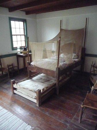 Vermilionville: Old Cajun bedroom for children