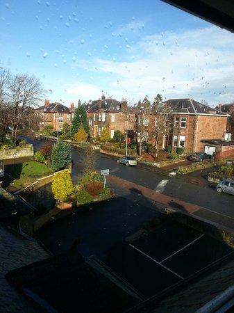BEST WESTERN Motherwell Centre Moorings Hotel : view from our room.... lovely