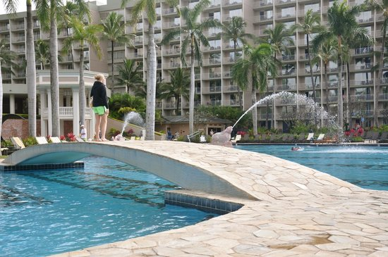 Kaua'i Marriott Resort: By pool