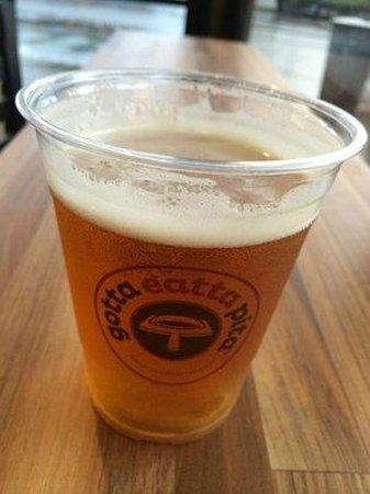 Gotta Eatta Pita : Craft beers...