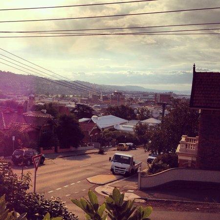 Hillview House: View from verandah