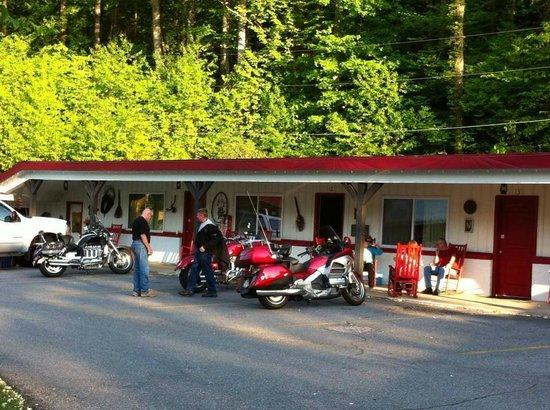 A Holiday Motel: Biker Friendly Motel.