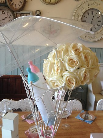 Donny's: The perfect place for a baby shower... X