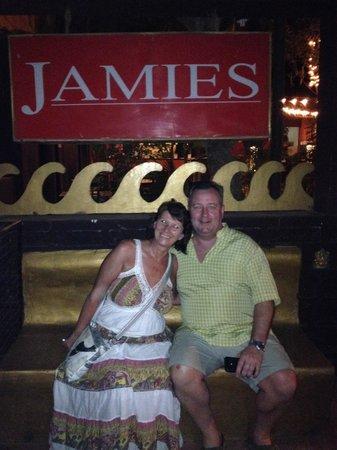 Jamies Restaurant: Nice meal - dave n I