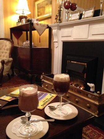 Kilronan House: irish coffee