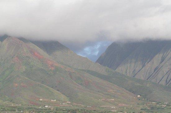 Aloha Lani Inn : The mountains behind Lahaina are magnificent