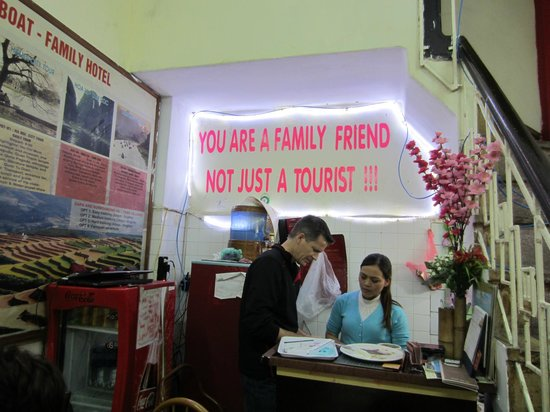 Hanoi Family Homestay: we felt like we were with friends