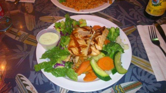 The Reel Inn: il mio salmone con wasabi :)