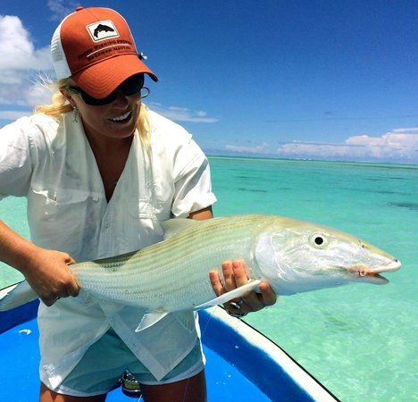 Bonefish - E2's Way: Such a beautiful fish in such a beautiful place!