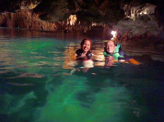 Cenote Chaak Tun : Segundo cenote