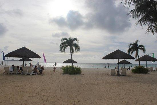 Hyatt Regency Saipan: Пляж