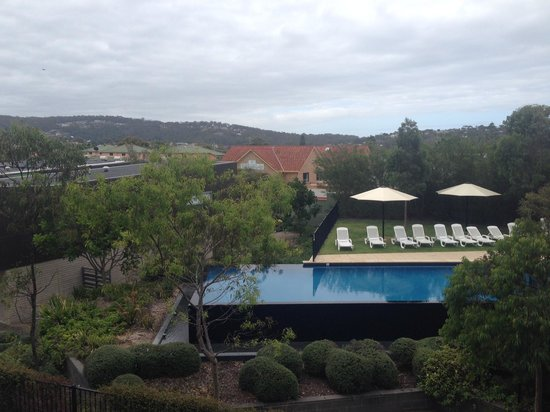 Coast Resort Merimbula: View from our balcony overlooking one of the resort's pools.