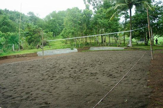 Ivisan, Filippine: Volleyball Court