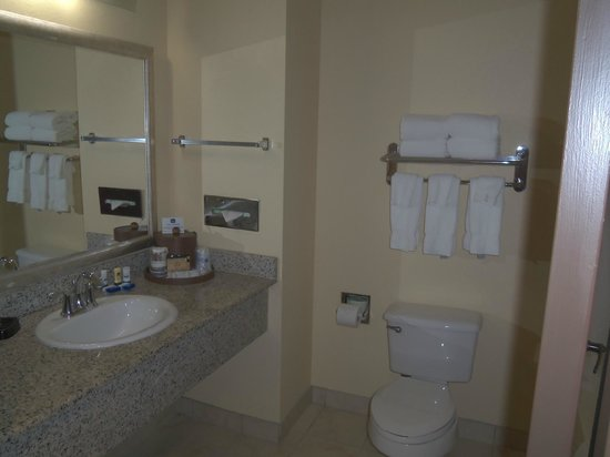 BEST WESTERN PLUS Seawall Inn & Suites by the Beach: Very clean bathroom
