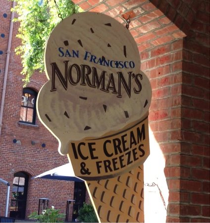 Norman's Ice Cream and Freezes: Best ice cream in Fisherman's Wharf