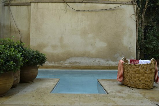 El Fenn : Plunge pool - the perfect way to cool off after the souks
